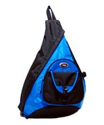 Sling Messenger 18 Inch Backpack - Blue
