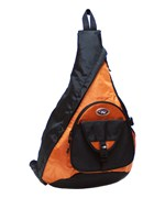 Sling Messenger 18 Inch Backpack - Orange
