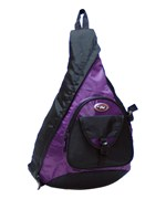 Sling Messenger 18 Inch Backpack - Purple