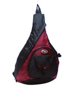 Sling Messenger 18 Inch Backpack - Red