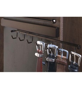 Deluxe Sliding Belt Rack - Oil Rubbed Bronze Image