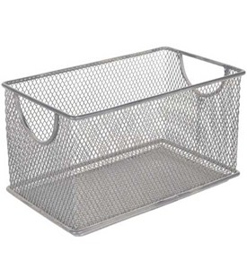Small Mesh Stacking Crate Image