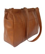 Small Leather Shopping Bag by Piel Leather