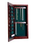 Small Wall Mounted Jewelry Cabinet - No Lock