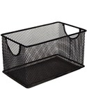 Small Mesh Stacking Crate