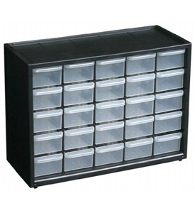 Small Parts Organizer - 25 Drawer Image