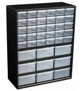 Small Parts Organizer - 39 Drawer Image