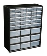 Small Parts Organizer - 39 Drawer