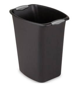 Small Plastic Trash Can Image