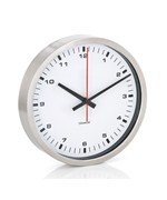 Small Stainless Wall Clock by Blomus