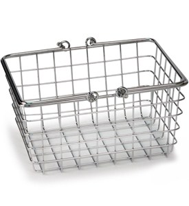 Small Wire Basket with Handles Image
