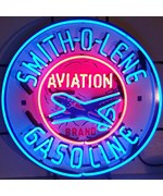 Smith-O-Lene Gasoline Neon Sign by Neonetics