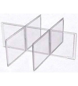 Clothing Storage Drawer Dividers - Small Image