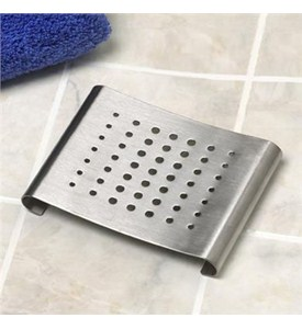 Soap Dish - Stainless Steel Image