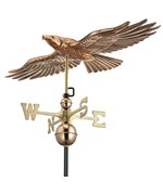 Soaring Hawk Weathervane - by Good Directions