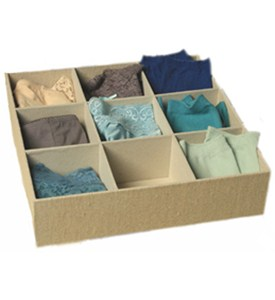 Sock Drawer Organizer Image
