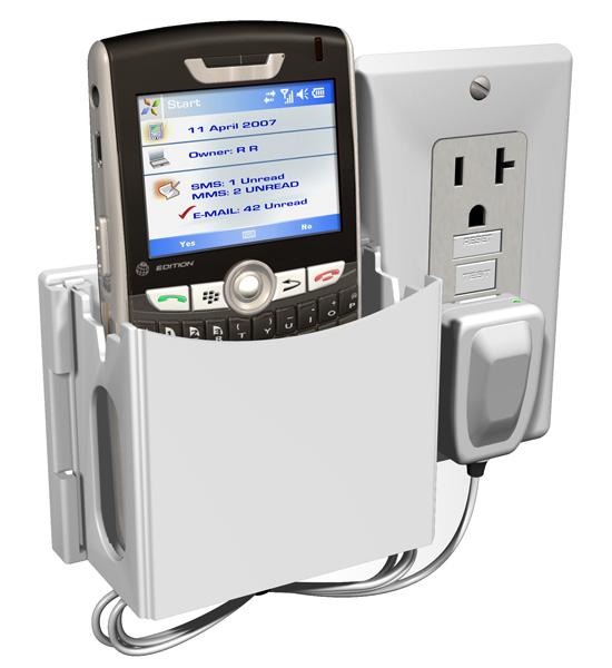 cell phone charging station socket pocket image