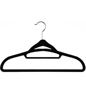 Soft Grip Flocked Hangers (Set of 25) Image