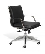 Soft Padded Low-Back Desk Chair
