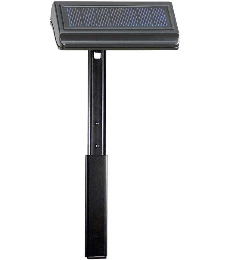 solar lawn plaque lamp with extender in led lights. Black Bedroom Furniture Sets. Home Design Ideas