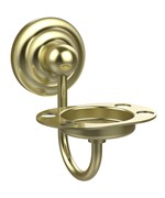 Solid Brass Wall Mount Toothbrush Holder
