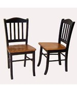 Solid Hardwood Shaker Dining Chair - Set of 2 by Boraam
