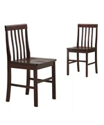 Solid Wood Dining Chair Sets by Walker Edison
