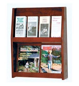 Literature Rack - 8 Pocket Image