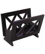 Solid Wood Magazine Rack
