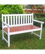 Solid Wood Outdoor Bench