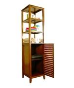 Glass Bath Shelf and Wood Bath Shelves | Organize-It