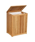 Spa-Style Bamboo Laundry Hamper by Oceanstar