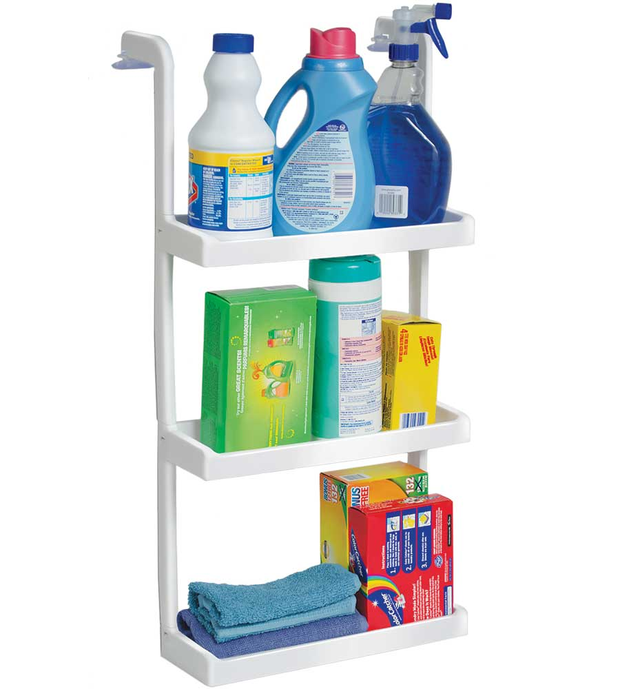 Space Saving Shelves In Laundry Room Organizers