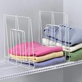 Large White Wire Shelf Divider