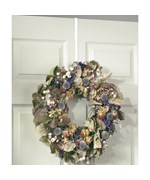 Over the Door Wreath Holder - White