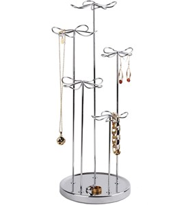 Spinning Jewelry Stand - Flower Image