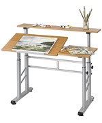 Split Level Drafting Table