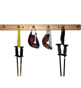 Sports Equipment Rack Image