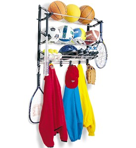 Sports Equipment Storage Rack Image