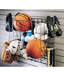 Grid Sports Rack and Basket