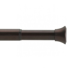 Spring Tension Curtain Rod - Antique Bronze Image