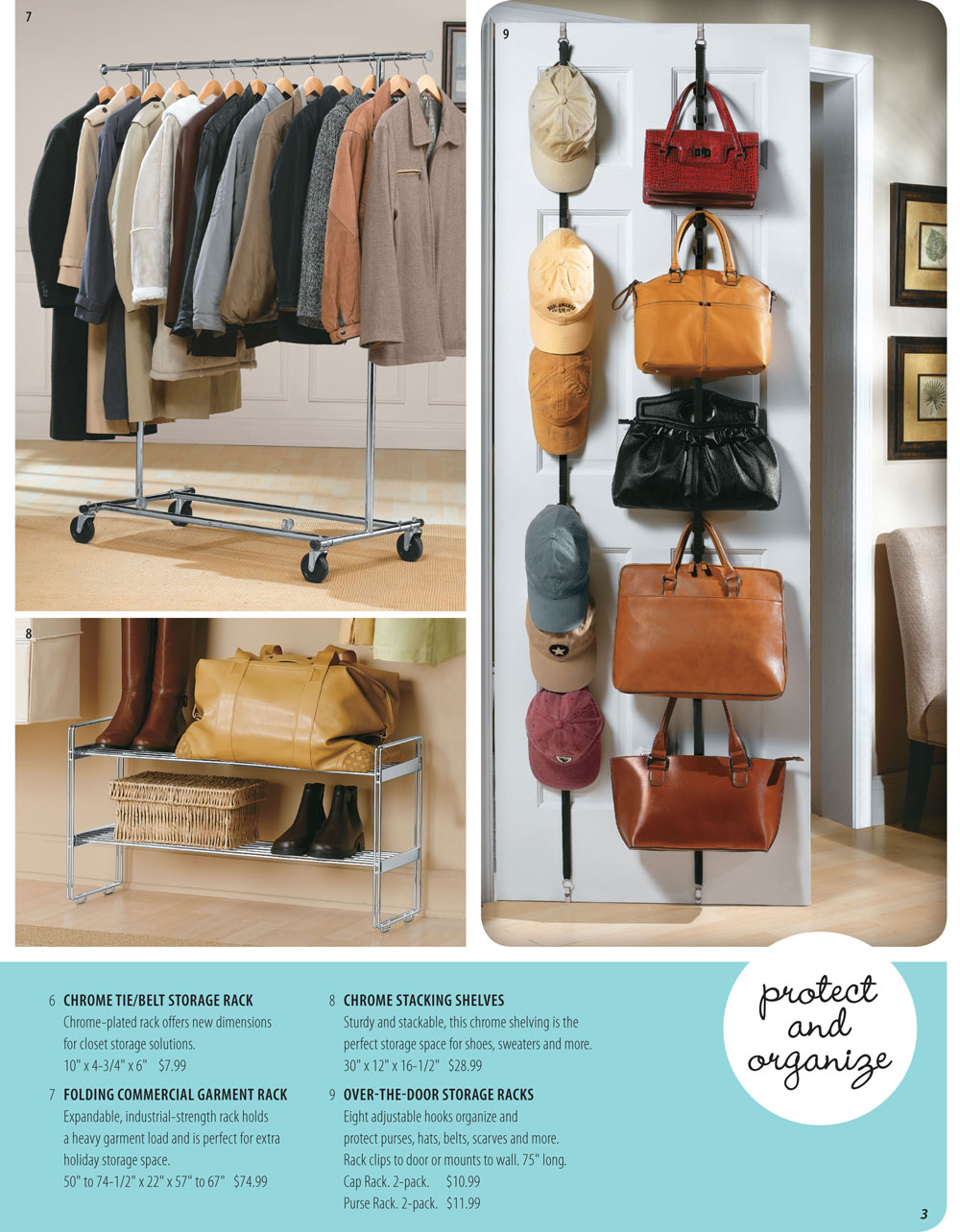 Organize It Spring Catalog Page 3