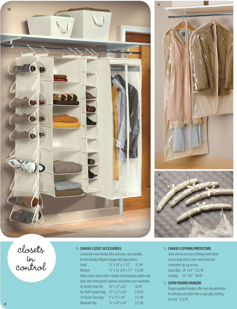 Organize It Spring Catalog Page 4