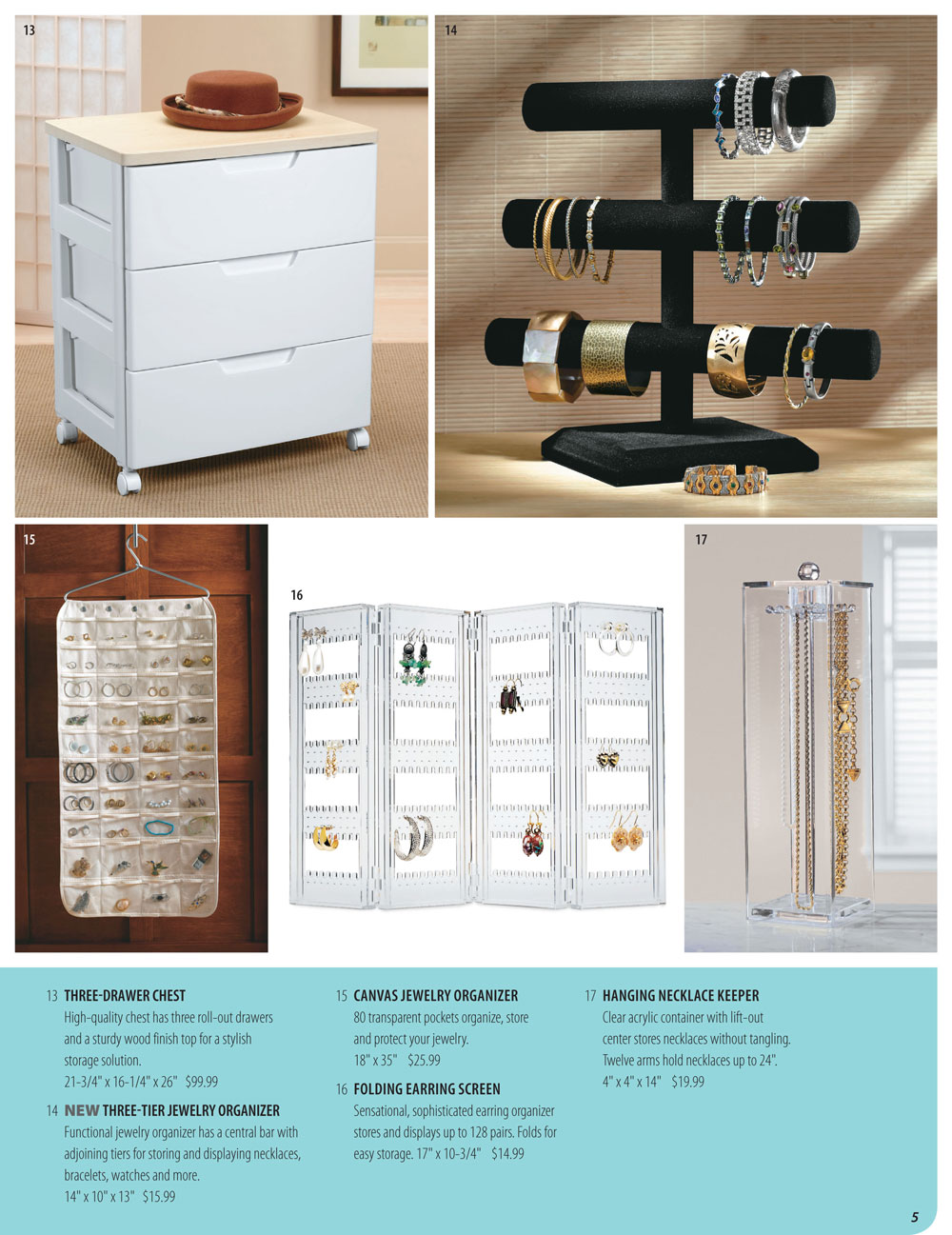 Organize It Spring Catalog Page 5