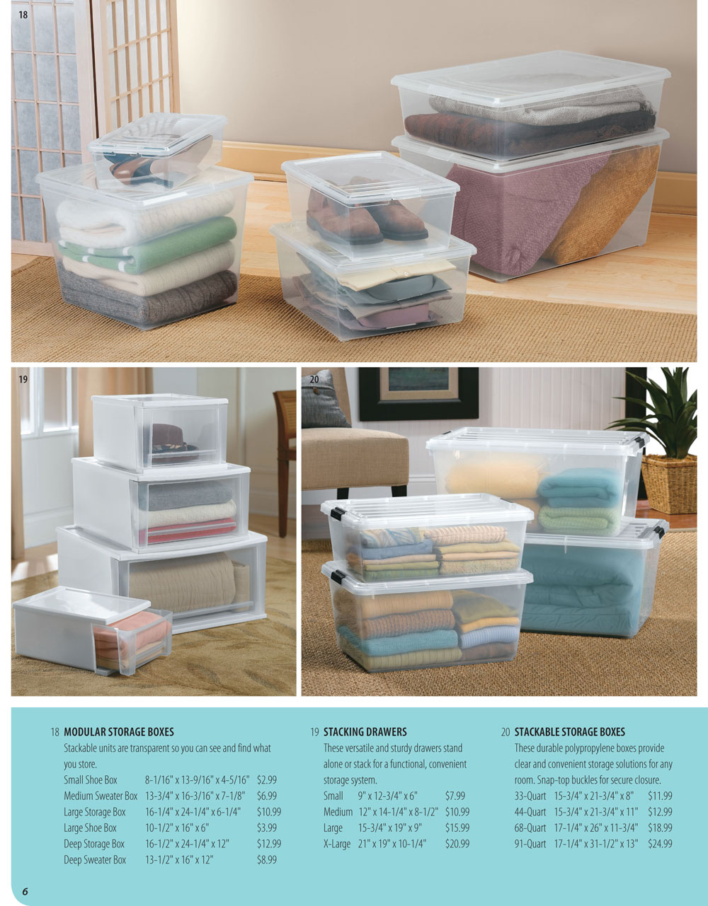 Organize It Spring Catalog Page 6