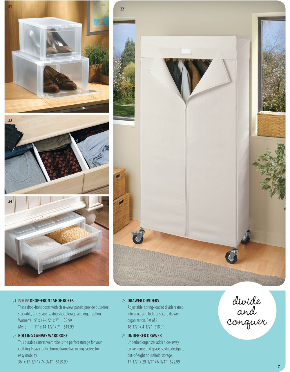 Organize It Spring Catalog Page 7