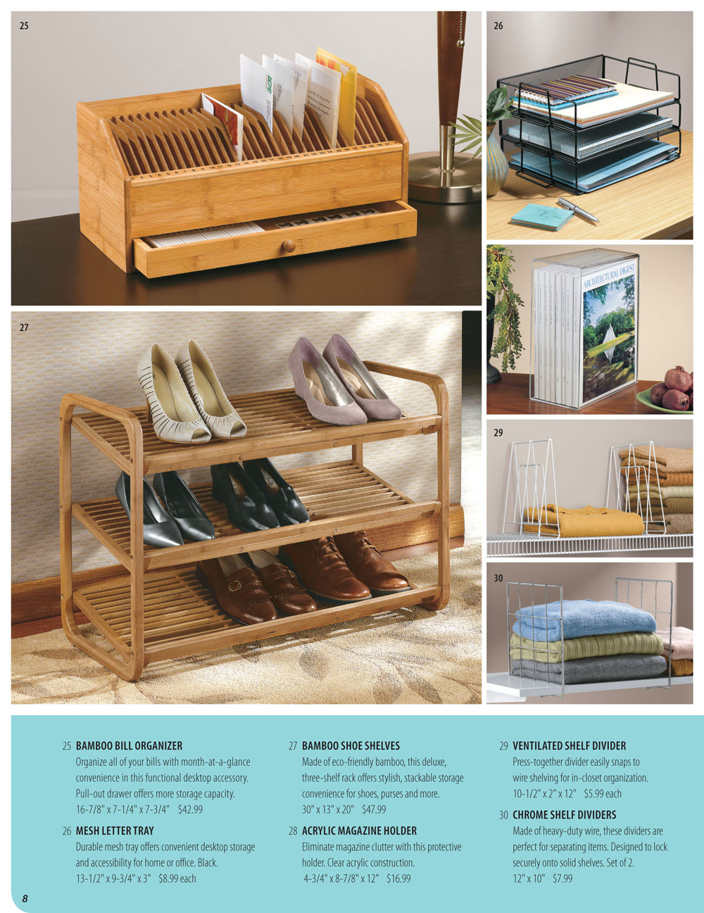 Organize It Spring Catalog Page 8