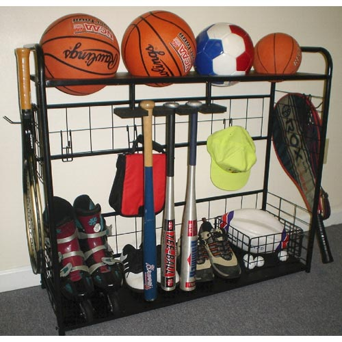 Buy online sports equipment - Sports Equipment Organizer