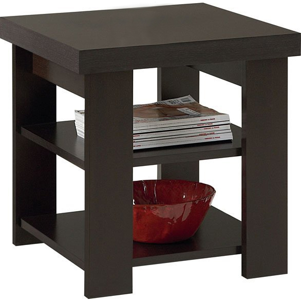 Square End Table in Side Tables