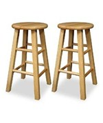 Square Leg Counter and Bar Stools